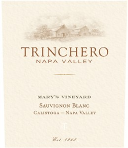 Trinchero Napa Valley Mary's Vineyard Sauvignon Blanc LO Res Front Label Shot[1]