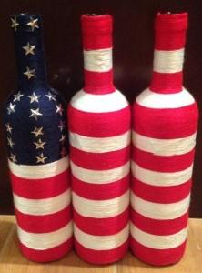 flag bottles